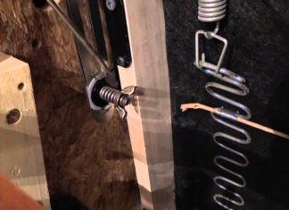 how to fix a recliner footrest springs