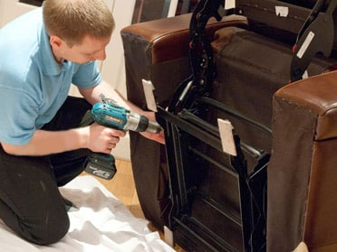 How To Fix A Recliner That Leans To One Side Fixing A