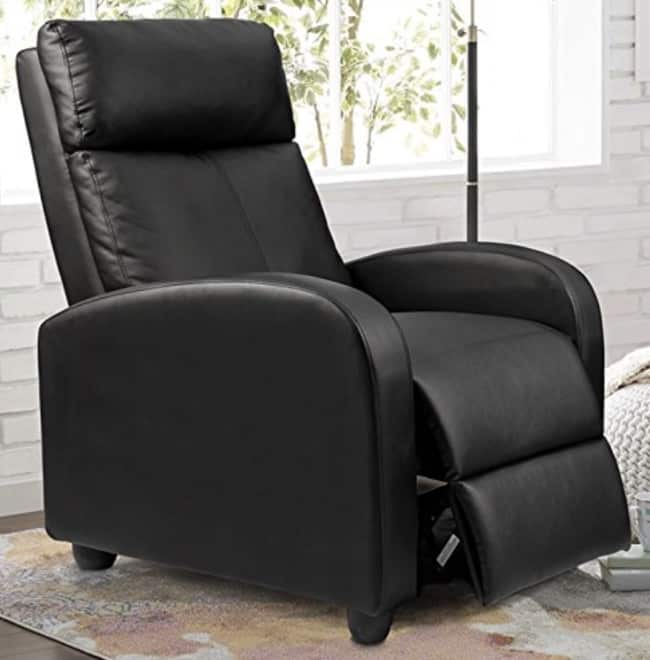 Cheap Recliner Sofas For Sale Black Leather Reclining: Best 10 Cheap Recliners Under $100