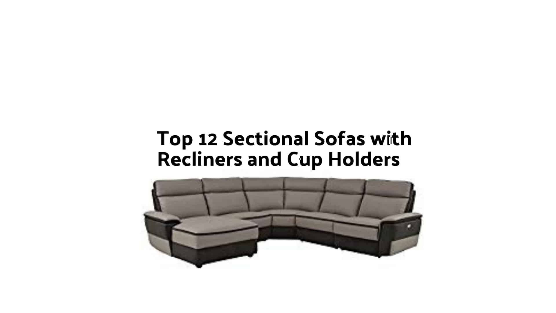 Enjoyable Leather Sectional Sofas With Recliners And Cup Holders Gamerscity Chair Design For Home Gamerscityorg