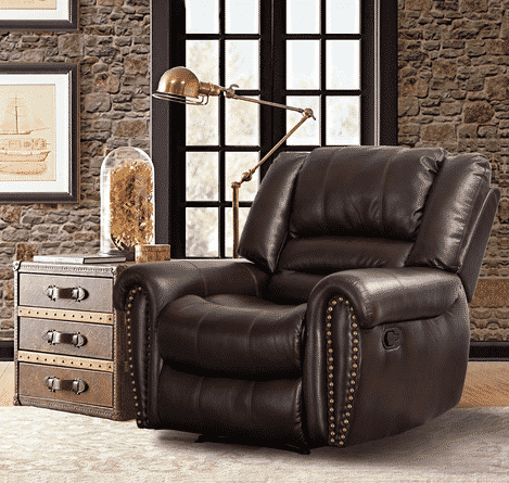 Top 10 Leather Recliners for Small Spaces - 2020 Reviews ...