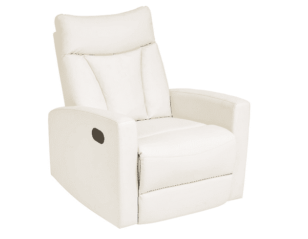 Fine Top 10 Leather Recliners For Small Spaces 2019 Reviews Bralicious Painted Fabric Chair Ideas Braliciousco